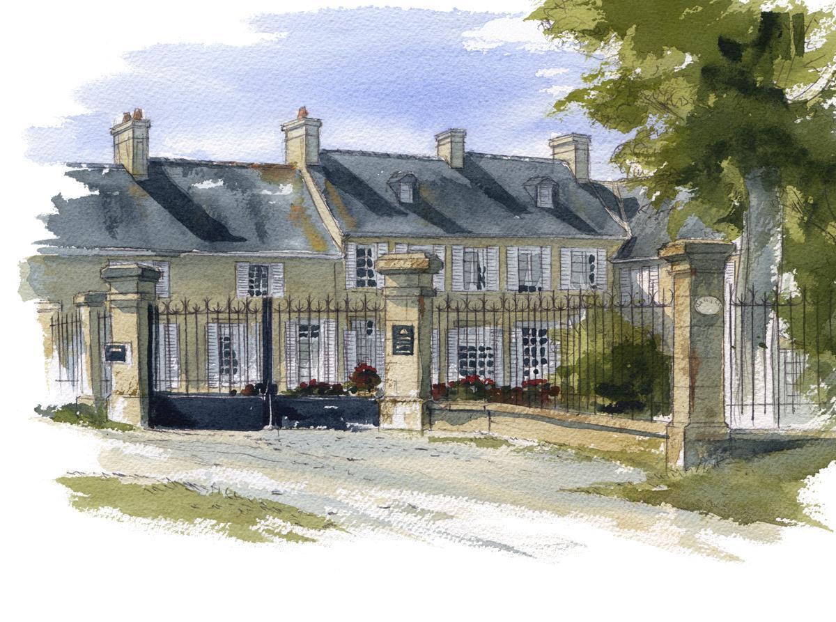 Marc van enis a propos for Aquarelle maison de retraite