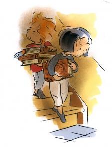 illustration jeunesse-mini-récit Edgar