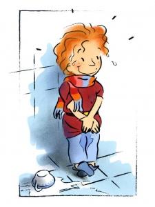 Les aventures d'Edgar, chevalier-illustration jeunesse