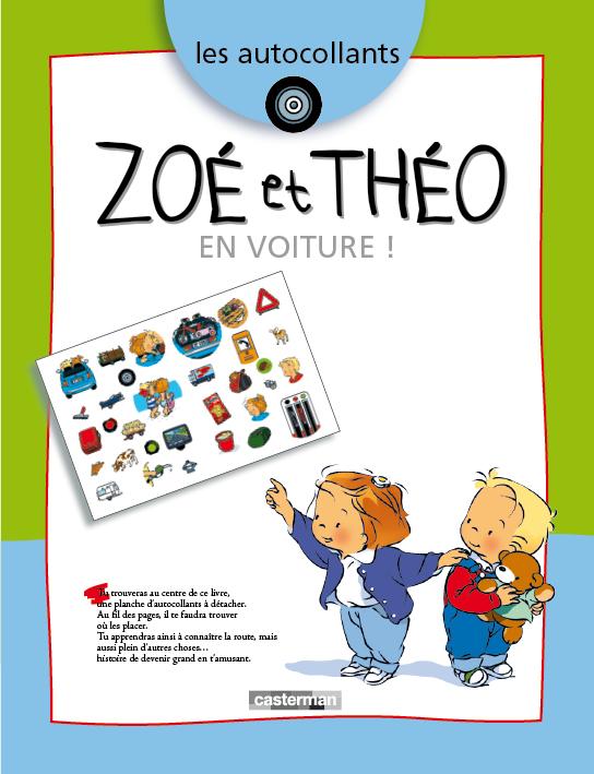 Autocollants Zoé et Théo - 1