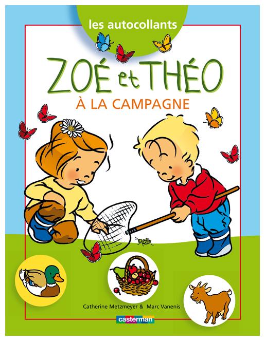 Zoé et Théo à la campagne