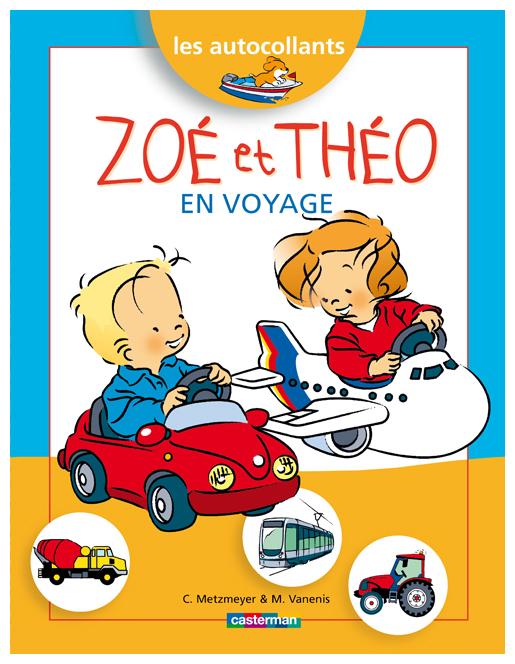 Zoé et Théo en voyage