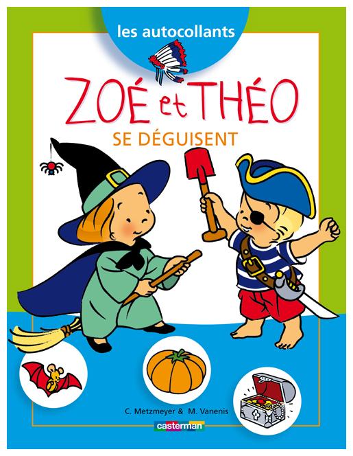 Zoé et Théo se déguisent