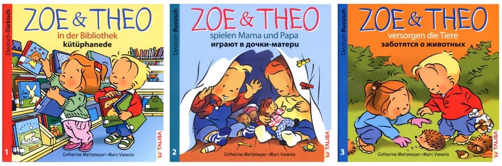 Zoé et Théo - Revue de Presse - versions bilingues Zoe und Theo