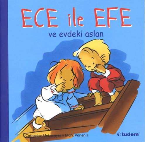 Ece ile Efe-ve evdeki aslan-Zoé et Théo-il est temps de dormir