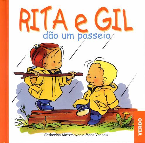 Rita e Gil-Zoé et Théo en promenade