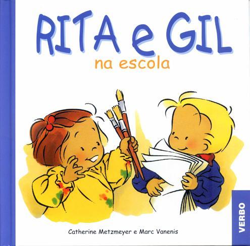 Rita e Gil-na escola-Zoé et Théo à l' école