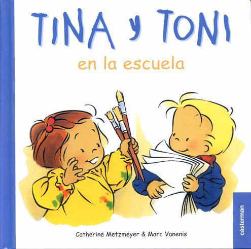 Tina y Toni-en la escuela-Zoé et Théo à l' école