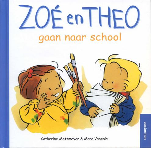 Zoé en Theo-gaan naar school-Zoé et Théo à l' école