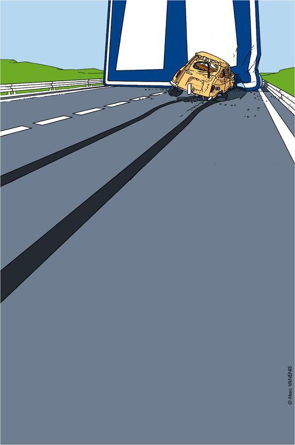 Bande dessinée du Journal Tintin - BD Déviations... (générique))