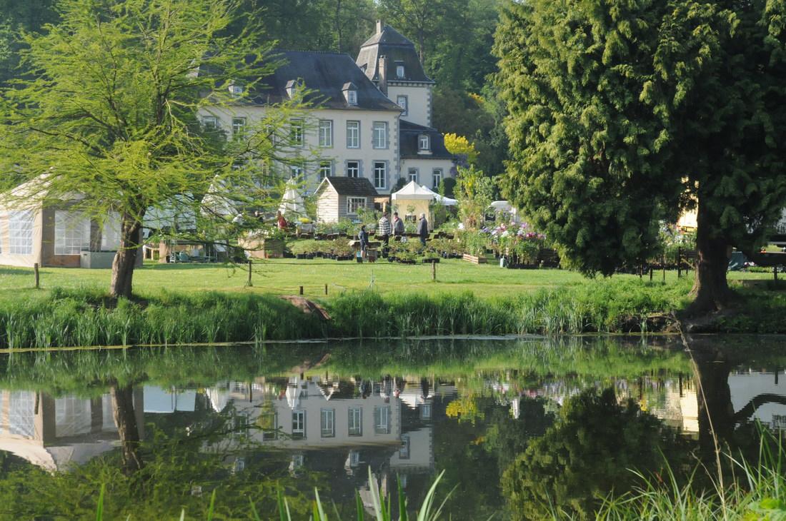 Les Jardins d'Aywiers-Aquarelles-Marc Van Enis
